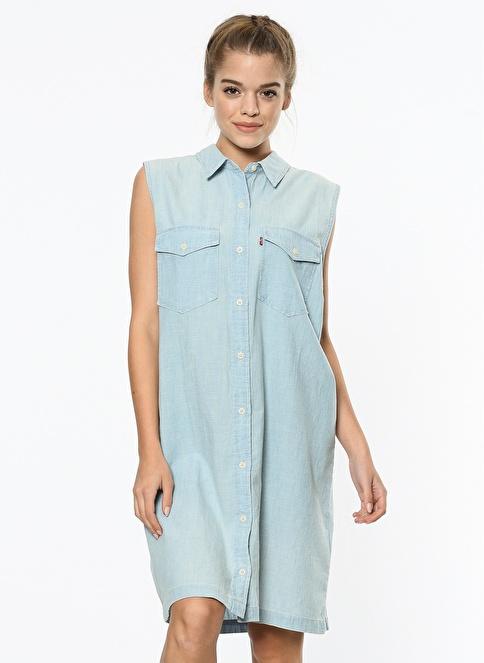 Levi's® Gömlek Elbise Renkli